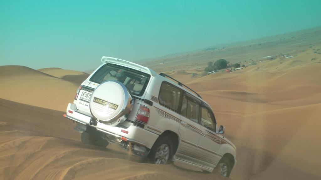 Dubai Morning Desert safari - Morning Sand Dune Safari