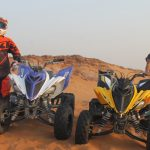raptor quad bike ride open desert adventure tour, raptor bike rental dubai